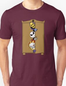 Skeletons in the Cupboard! Unisex T-Shirt