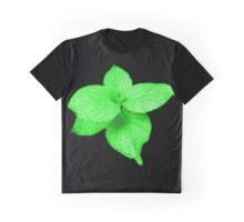 Glow In The Dark Leaves Graphic T-Shirt