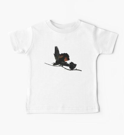 A Pair of Playful Black Cockatoos Baby Tee