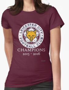 Leicester City - Champions 2015 - 2016 Womens Fitted T-Shirt