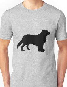 Bernese mountain dog silhouette Unisex T-Shirt