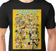 charlie brown yellow peanuts Unisex T-Shirt
