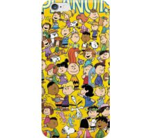 charlie brown yellow peanuts iPhone Case/Skin