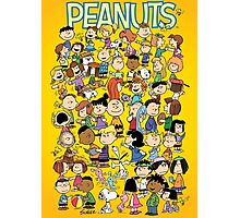 charlie brown yellow peanuts Photographic Print