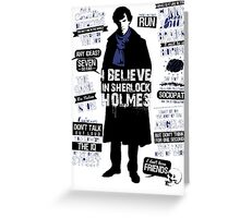 Detective Quotes Greeting Card