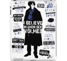 Detective Quotes iPad Case/Skin