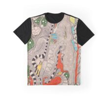 The forest. Animals familiar and unfamiliar. Graphic T-Shirt