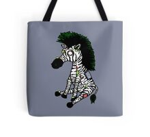 Zazzles the Zombie Zebra Tote Bag