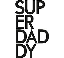 Superdaddy Photographic Print