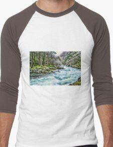 Blue Flowing Stream T-Shirt