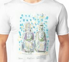 Two Statues in Mee Lun Street Unisex T-Shirt
