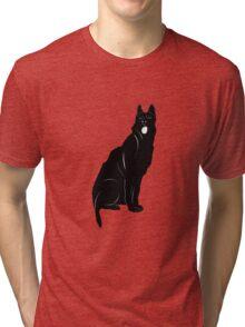 Black bull terrier Tri-blend T-Shirt