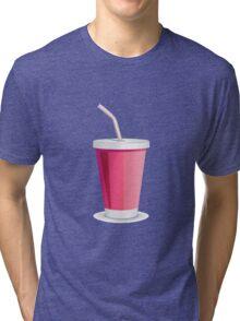 Milk shake art Tri-blend T-Shirt