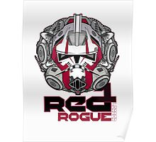 Star Wars RED 1 Rogue Leader Poster