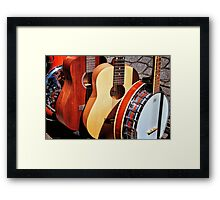Strings Attached Framed Print