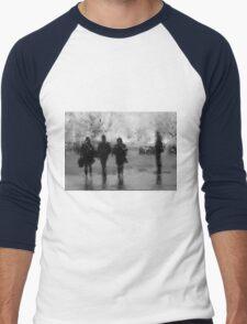 3 + 1 Men's Baseball ¾ T-Shirt