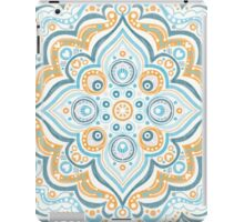 Symmetry blue and yellow iPad Case/Skin