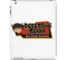 Detective Conan/Case Closed Logo iPad Case/Skin