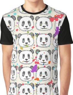 splatter pop panda cookies Graphic T-Shirt