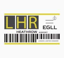 Destination London Heathrow Airport Baby Tee