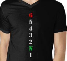 Motorcycle Gears Mens V-Neck T-Shirt
