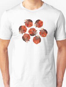 curled fox polka mint Unisex T-Shirt