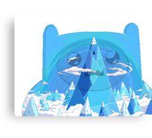 finn ice kingdom Canvas Print