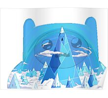 finn ice kingdom Poster