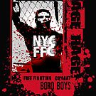 NYC CAGE RAGE by redboy