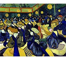 Vincent van Gogh The Dance Hall in Arles Photographic Print