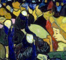 Vincent van Gogh The Dance Hall in Arles Sticker