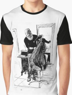 beautiful hairdresser  Graphic T-Shirt