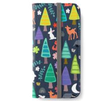 midnight woodland iPhone Wallet/Case/Skin