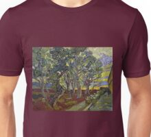 Vincent van Gogh The Garden of Saint Paul's Hospital Unisex T-Shirt