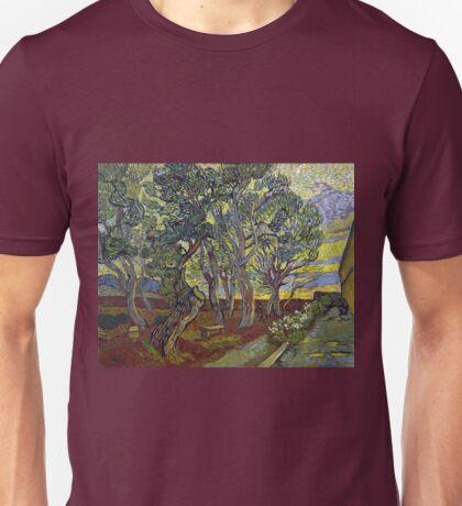 Vincent van Gogh The Garden of Saint Paul's Hospital Unisex T-Shirt