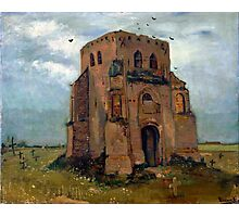 Vincent van Gogh The Old Church Tower at Nuenen (The Peasant's Churchyard) Photographic Print