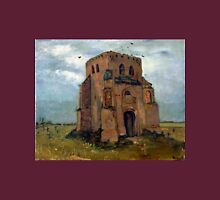 Vincent van Gogh The Old Church Tower at Nuenen (The Peasant's Churchyard) Unisex T-Shirt