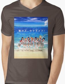 Love Live! Sunshine!! Shirt Mens V-Neck T-Shirt