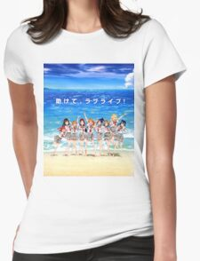 Love Live! Sunshine!! Shirt Womens Fitted T-Shirt