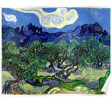 Vincent van Gogh The Olive Trees Poster