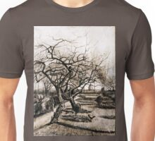 Vincent van Gogh The Parsonage Garden at Nuenen in Winter Unisex T-Shirt