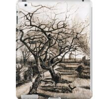 Vincent van Gogh The Parsonage Garden at Nuenen in Winter iPad Case/Skin