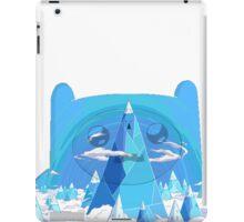 finn ice kingdom iPad Case/Skin