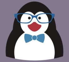 Penguin with glasses Kids Tee
