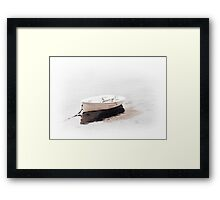 Rowing Boat Framed Print
