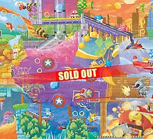 Sonic 2 Fresco (SOLD OUT!) by orioto