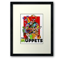 The Muppets Cartoon Framed Print
