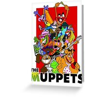 The Muppets Cartoon Greeting Card