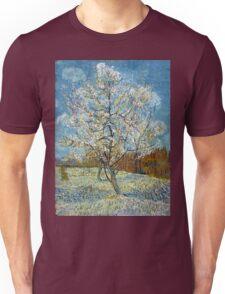 Vincent van Gogh The Pink Peach Tree Unisex T-Shirt