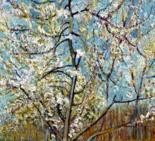 Vincent van Gogh The Pink Peach Tree Sticker